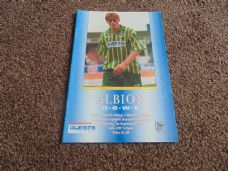 West Bromwich Albion v Hereford United, 1994/95 [CC]